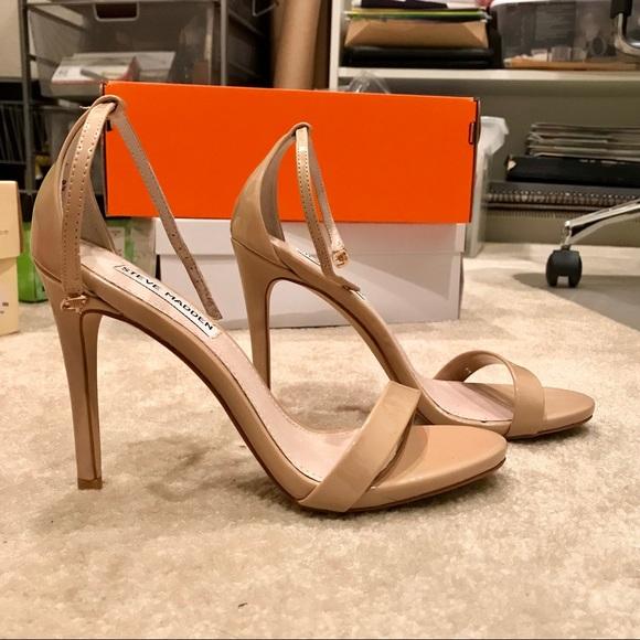 b302970149f Steve Madden Stecy Heels (Blush Patent)